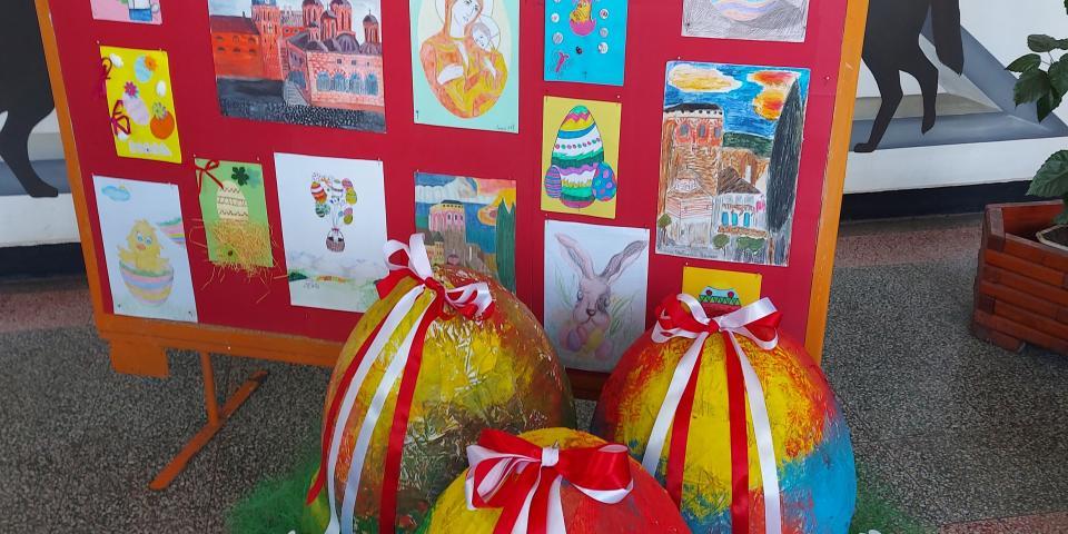 снимка за новина - Великденска украса във 2. СУ